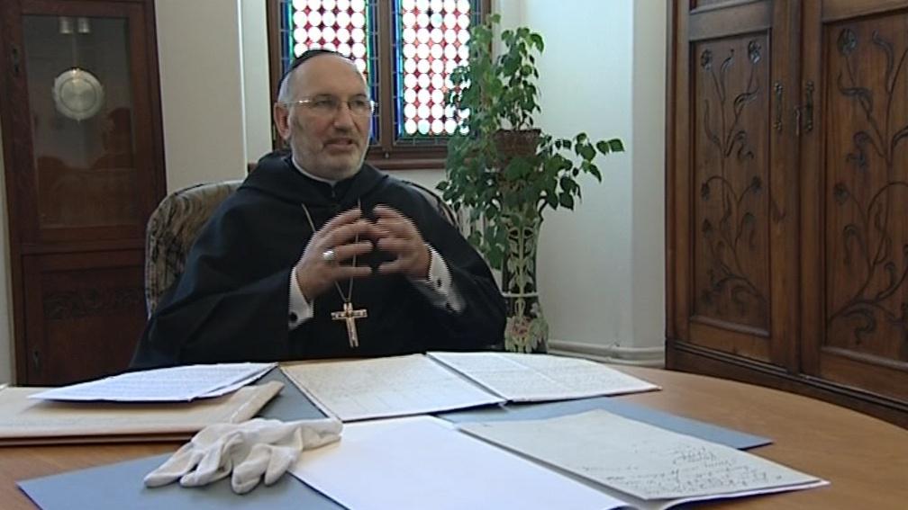 Starobrněnský opat Lukáš Evžen Martinec