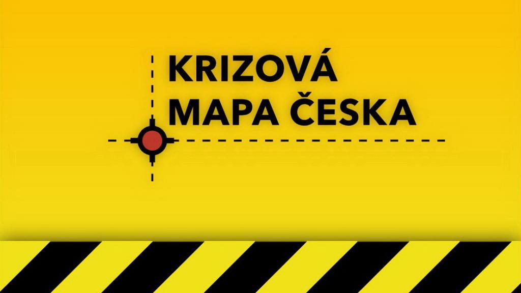 Krizová mapa Česka