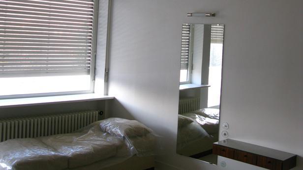 Vila Tugendhat interiér před otevřením 9