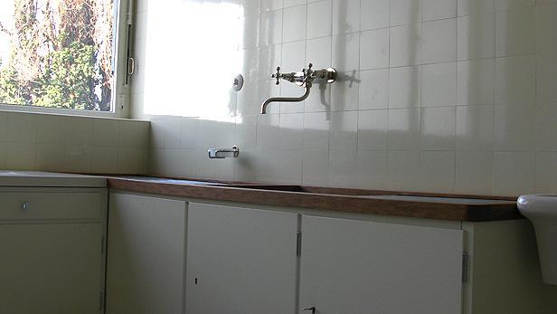 Vila Tugendhat interiér před otevřením 1
