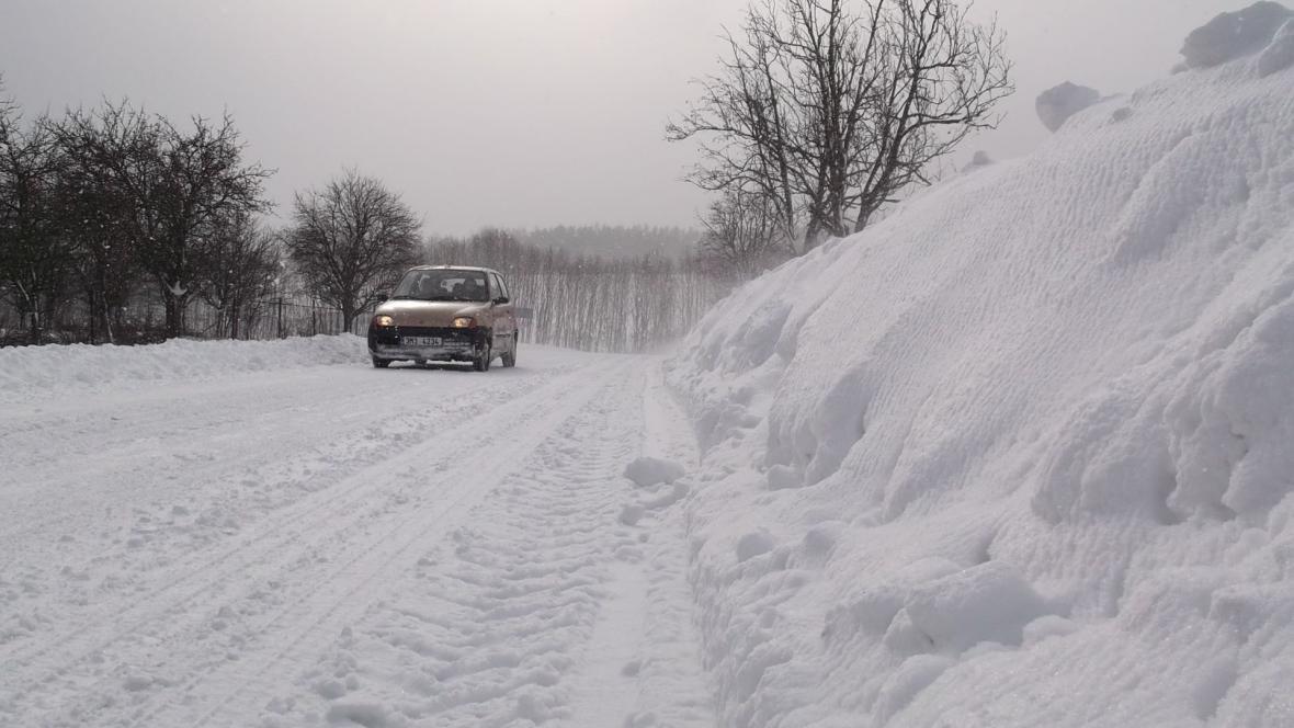Sněhová kalamita zasáhla i Prostějovsko