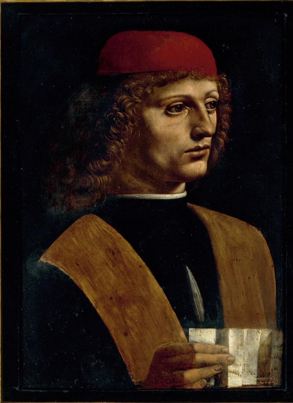 Portrét hudebníka