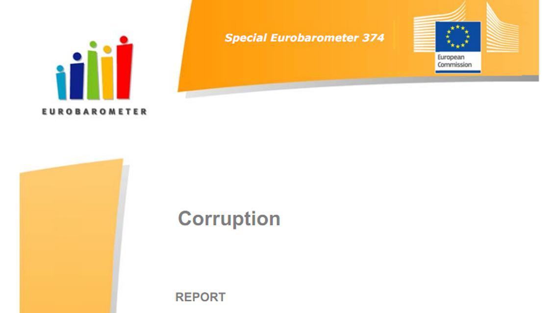 Eurobarometr o vnímání korupce