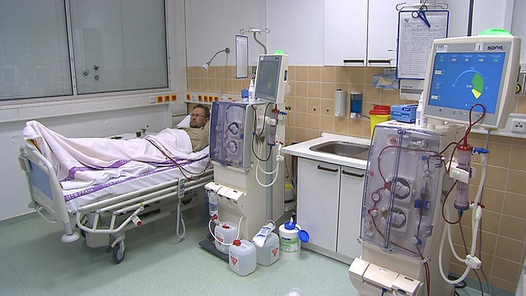 Pacient na dialýze