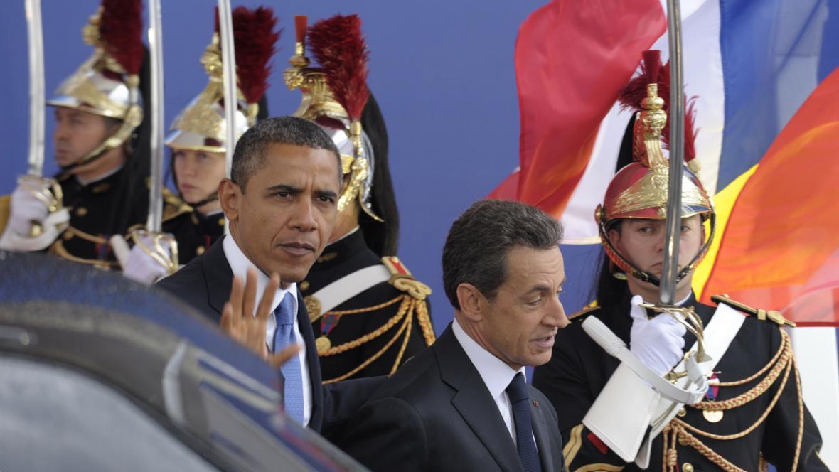 Barack Obama a Nicolas Sarkozy
