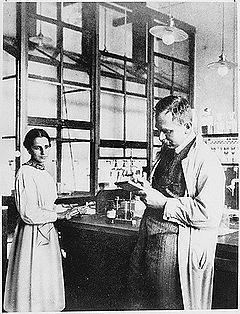 Otto Hahn a Lise Meitnerová