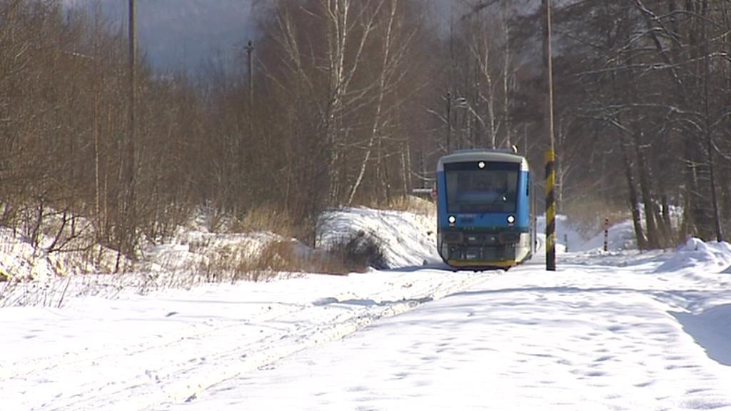 Zima na železnici