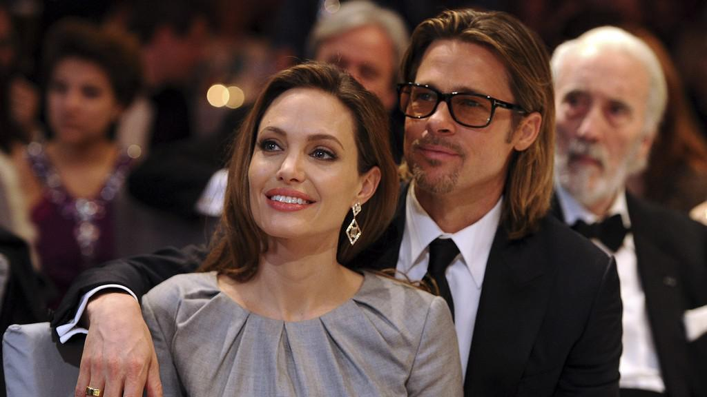 Angelina Jolieová a Brad Pitt