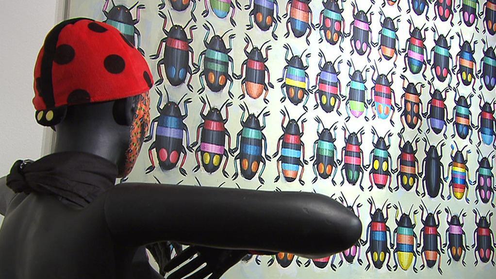 Z výstavy Black Bug Double Show