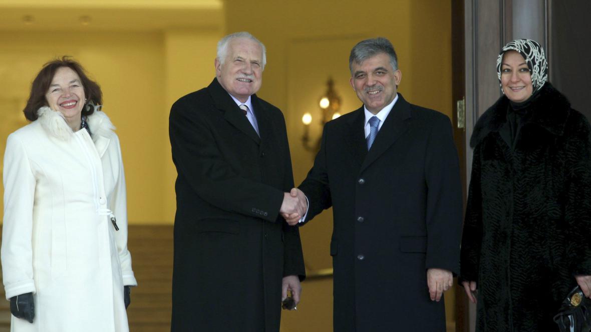 Václav Klaus v Turecku