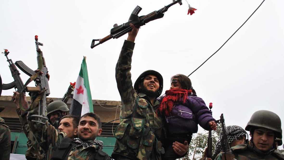 Protivládní protesty v Homsu