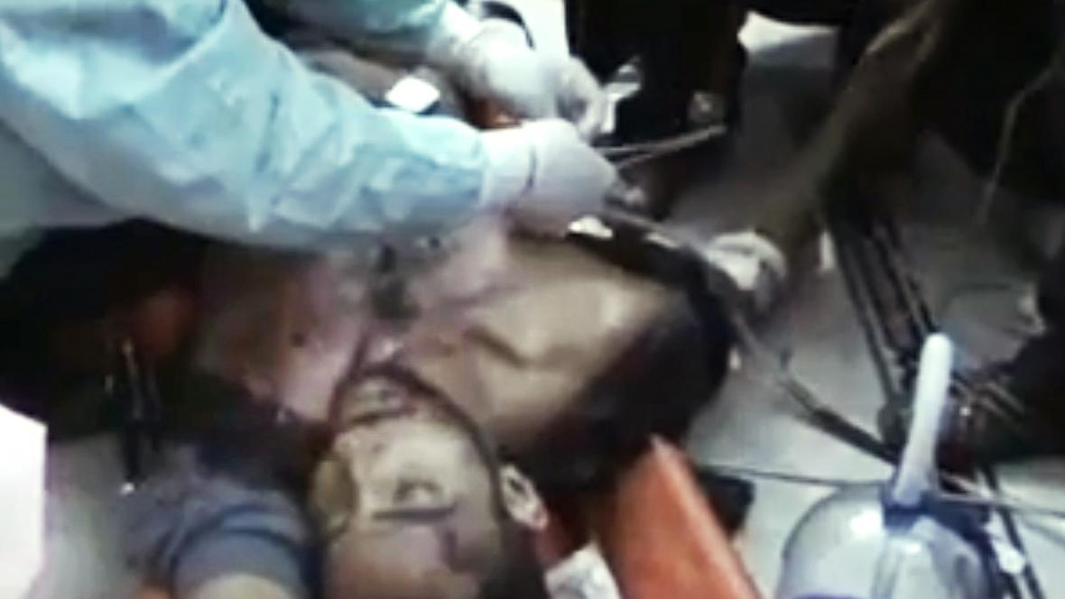 Oběť bojů v Homsu
