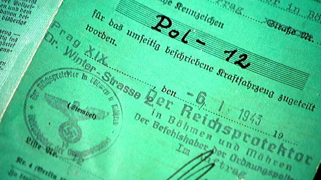Dokumenty od mercedesu K. H. Franka