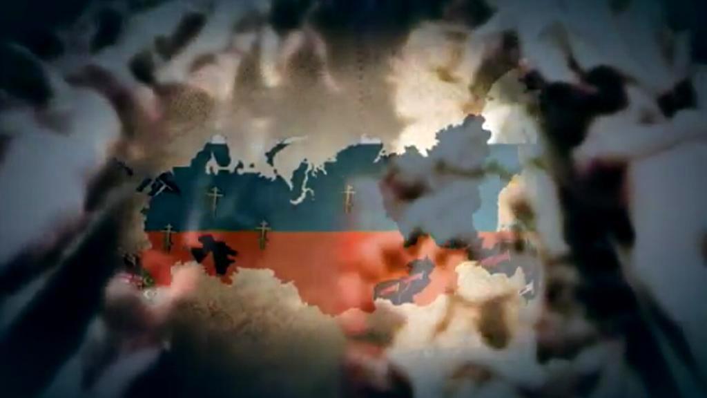 Videoklip Rusko bez Putina