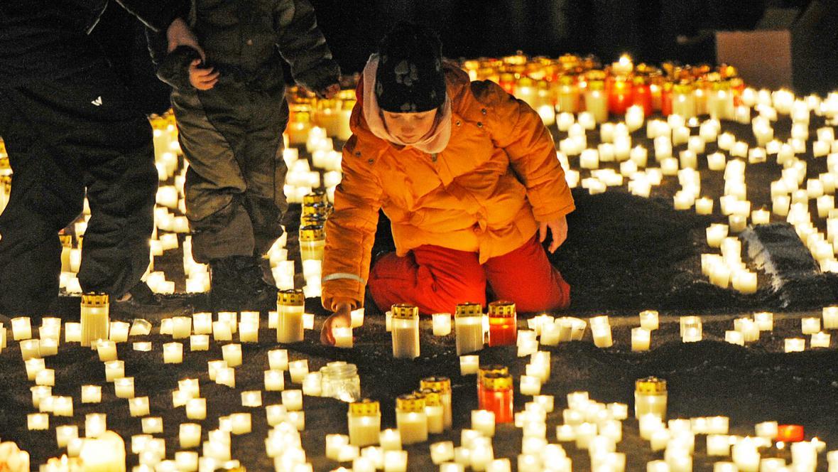 Drážďany si připomínají výročí spojeneckého bombardování