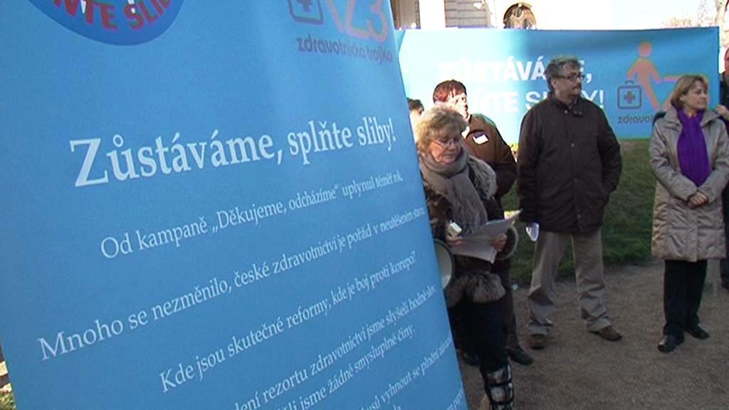 Kampaň lékařů v Brně