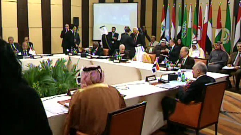 Liga arabských států zasedá v Káhiře