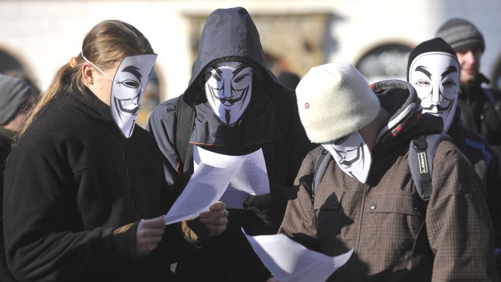 V řadě tuzemských měst se sešli odpůrci ACTA