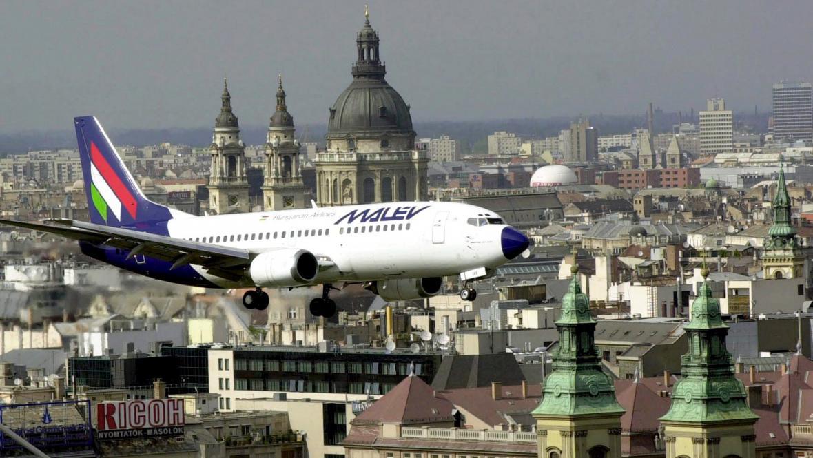 Letadlo aerolinek Malév