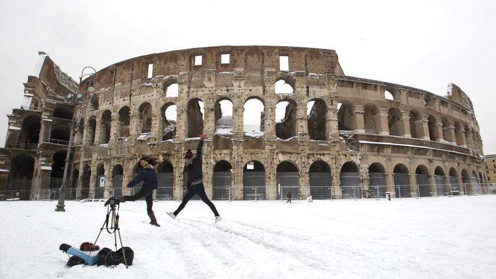 Mrazy v Římě