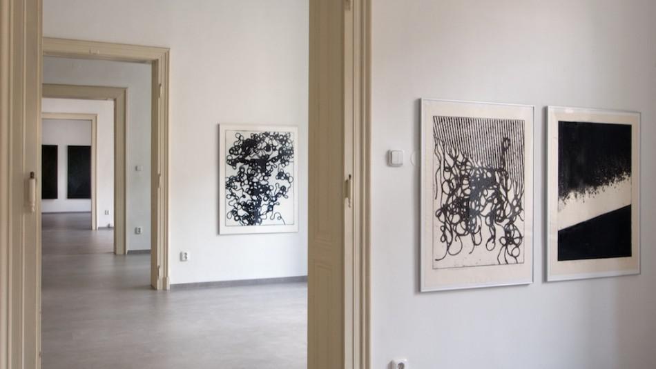 Výstava Lubomíra Přibyla v Topičově klubu