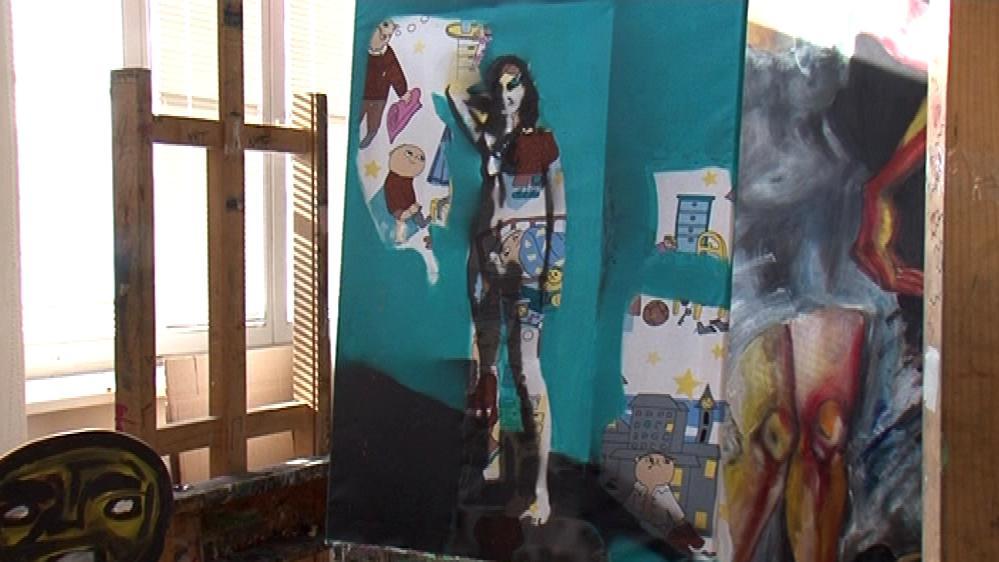 Díla studentů z Katedry výtvarné výchovy Pedagogické fakulty MU