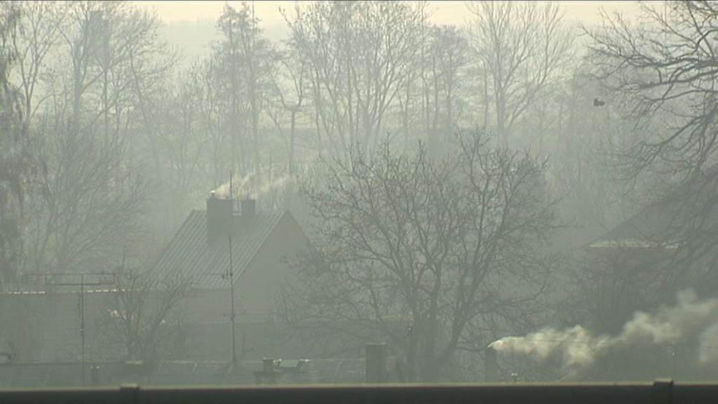 Znečištěné ovzduší v MS kraji