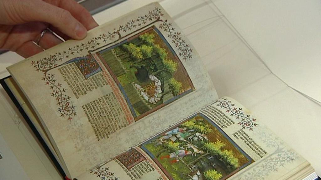 Středověké knižní rukopisy