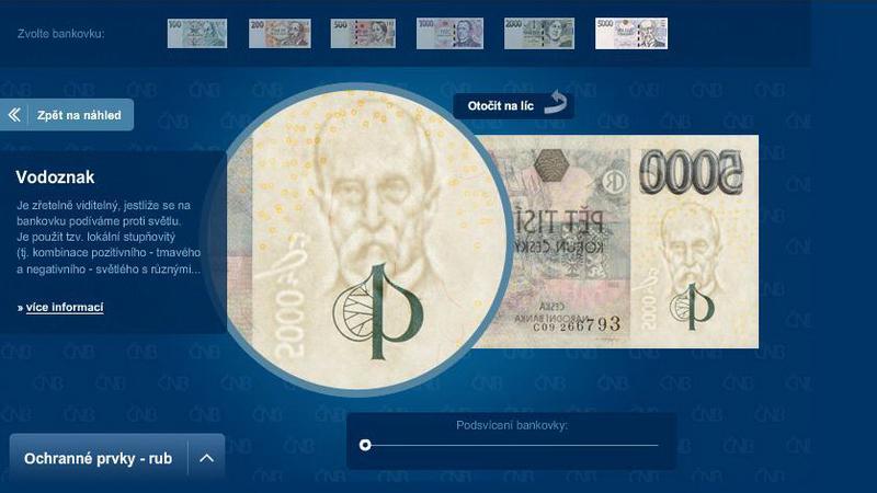 Aplikace České bankovky