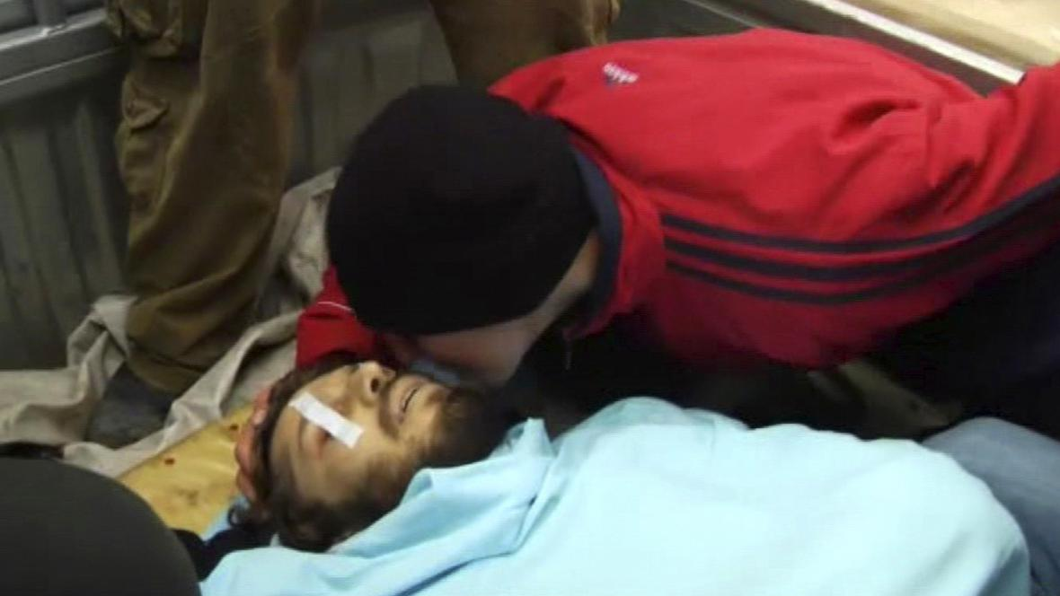 Pohřeb v Homsu