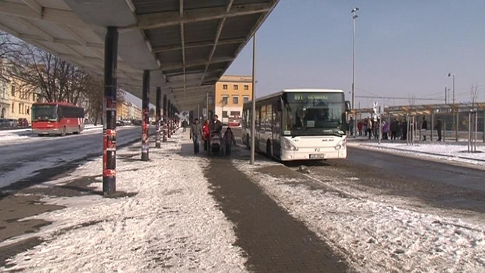 Nový autobusový terminál ve Znojmě