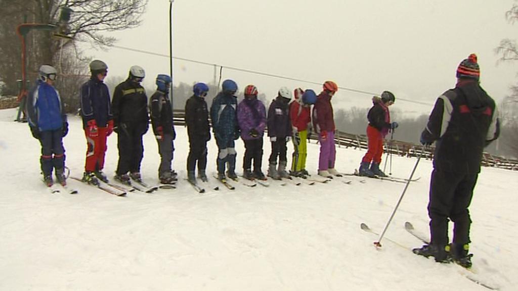 Žáci ZŠ Chyšky na lyžařském výcviku