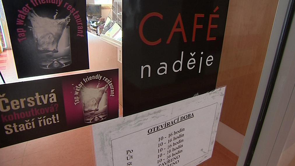 Café Naději v Otrokovicích