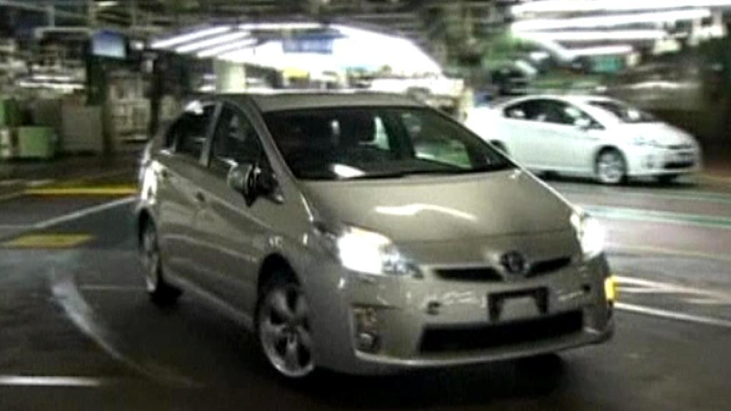 V závodě Toyoty