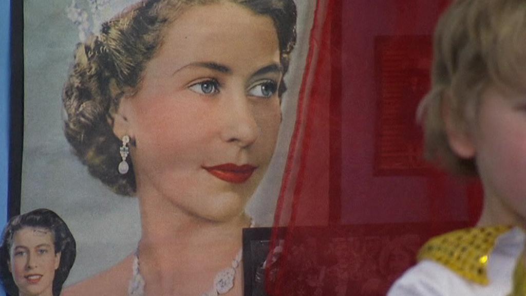 Portrét britské královny v době nástupu na trůn