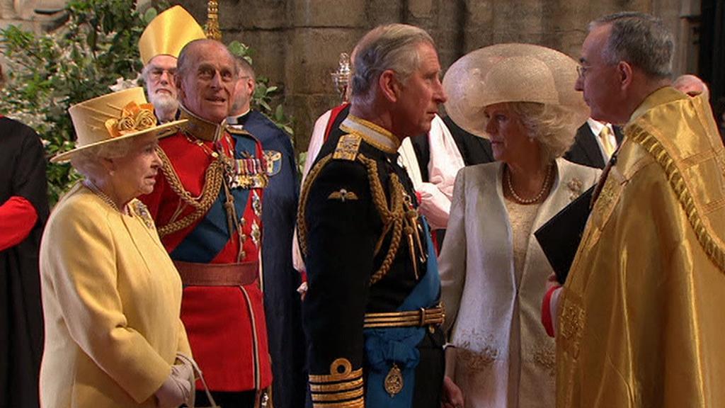 Setkání při svatbě Prince Williama a Catherine Middleton