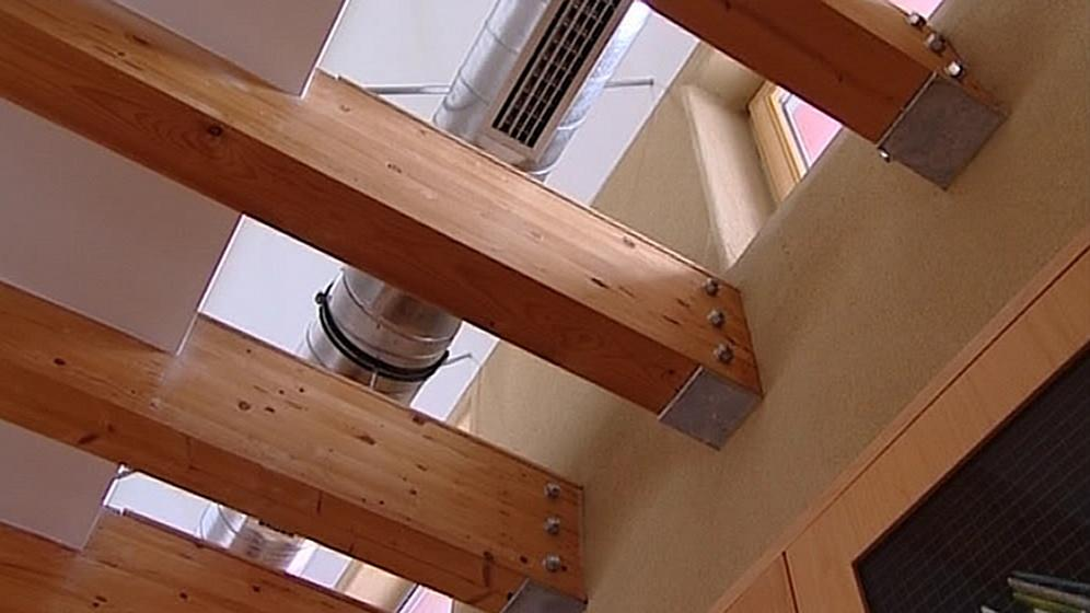 Systém vytápění pasivních domů