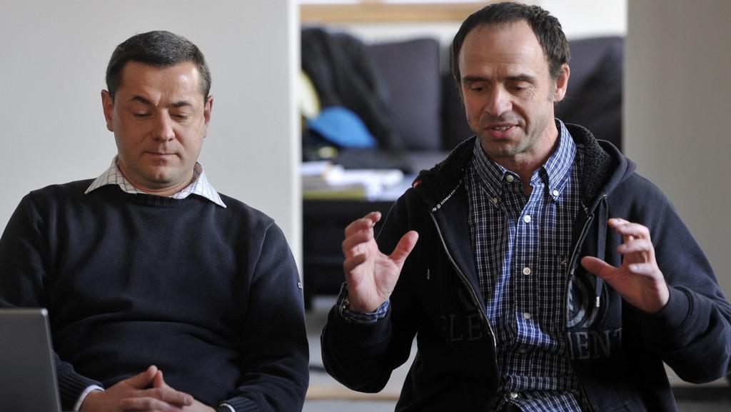 Tomáš Froyda a Petr Forman