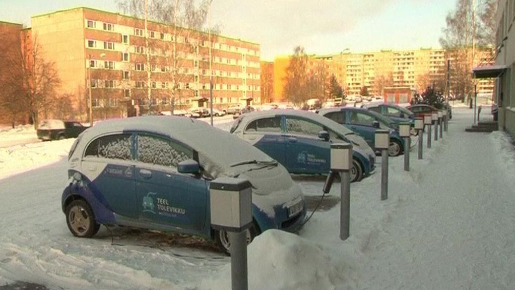 Elektromobily v Estonsku