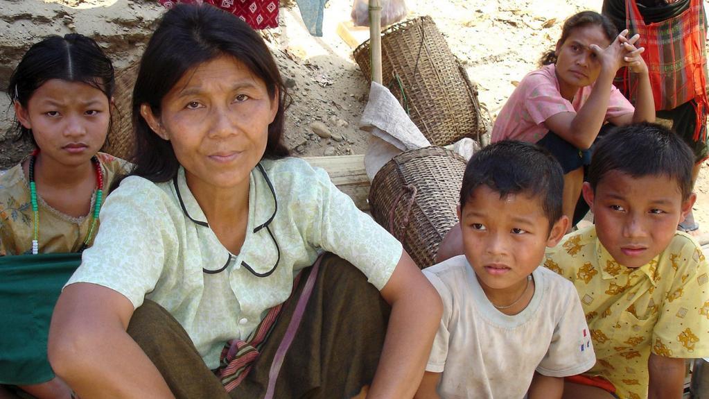 Barmánci jsou často na útěku před armádou
