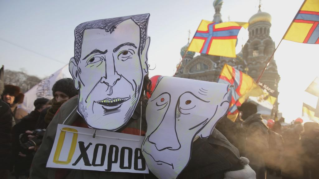 Demonstrace v Rusku
