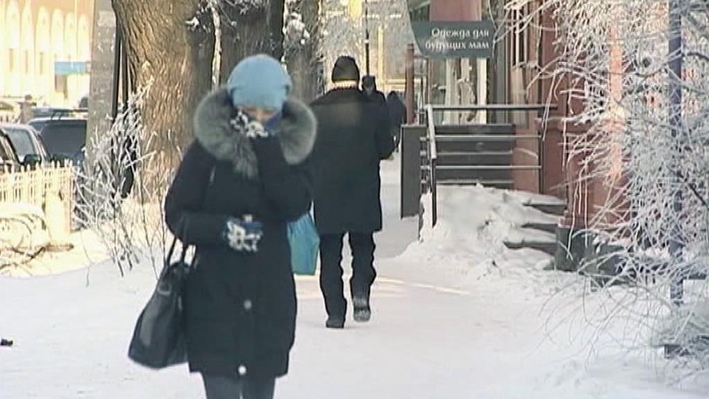 Mrazy na Ukrajině