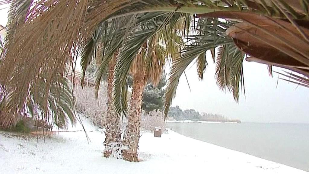 Francie pod sněhem