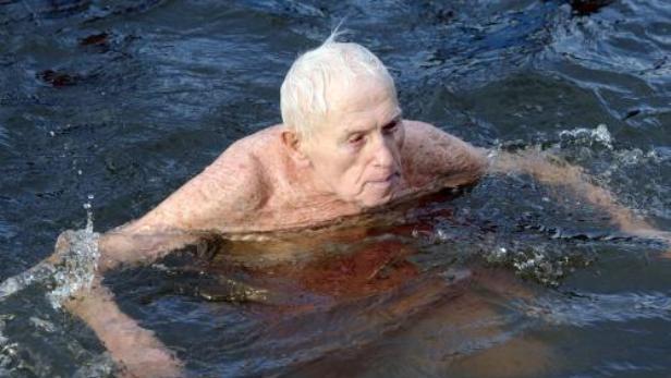Nestor otužilců Ladislav Nicek