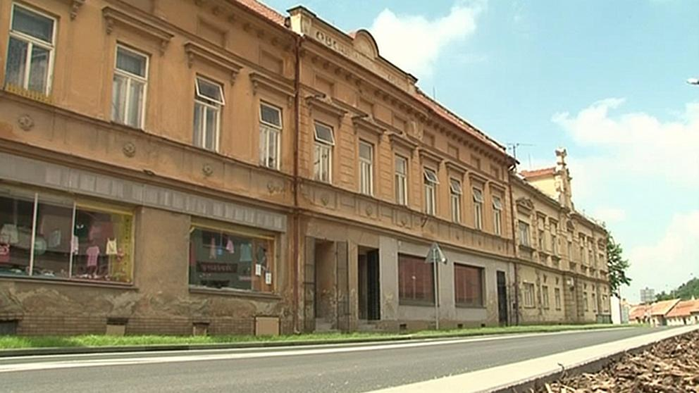 Památkově chráněné domy v Bučovicích