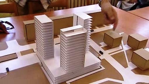 Plán na přestavbu sídlištního střediska Obzor