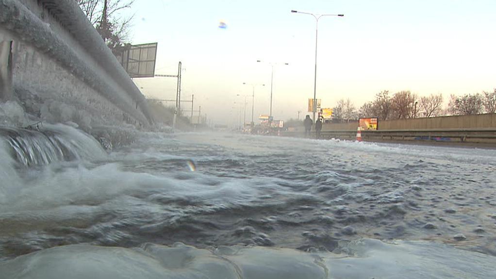 Zaplavená Jižní spojka