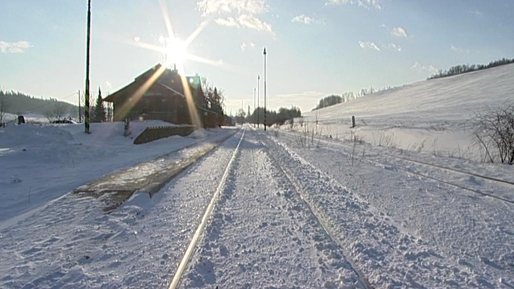 Zasněžená trať