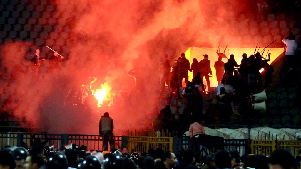 Fanoušci v Port Saíd rozpoutali peklo