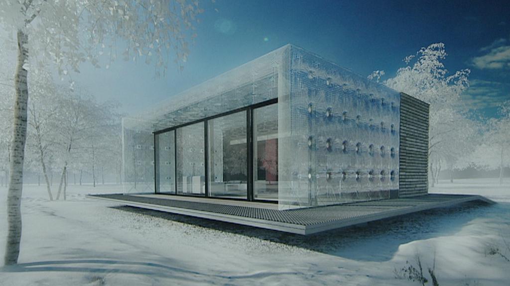 Soběstačný dům / projekt studentů ČVUT